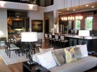 Open Concept Kitchen and Living Room Dcor - Modernize