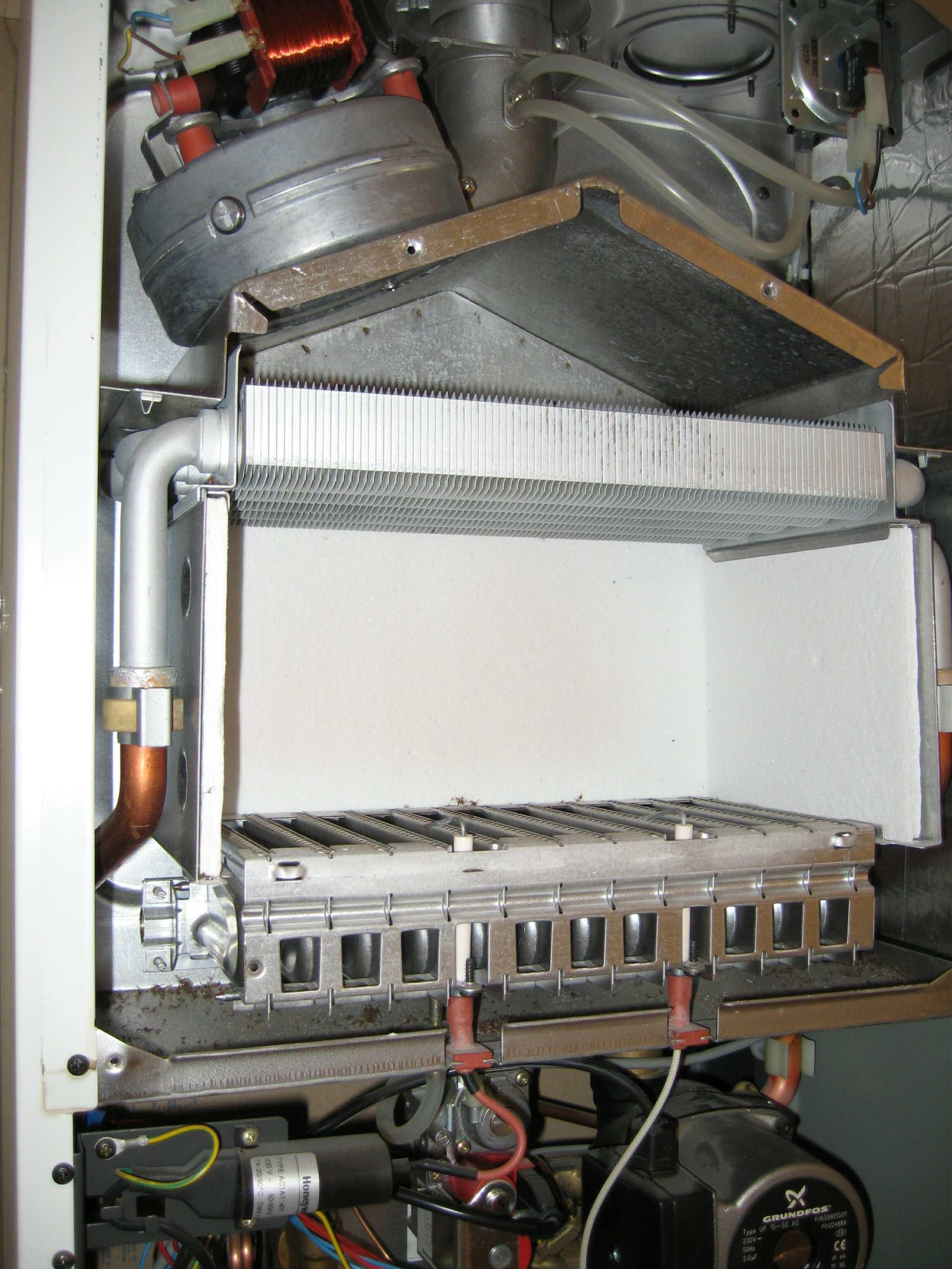 hight resolution of boiler heat exchanger