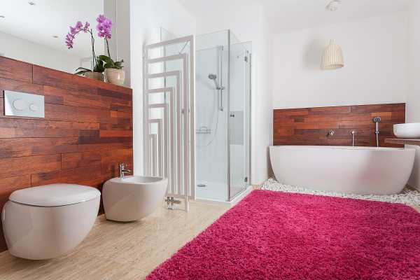 Carpeted Bathroom Making Work - Modernize