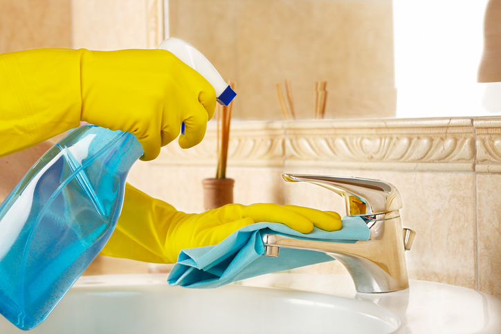 Homeowner 101 How to Deep Clean Your Bathroom  Modernize