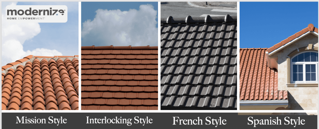 2020 tile roof costs roofing tiles