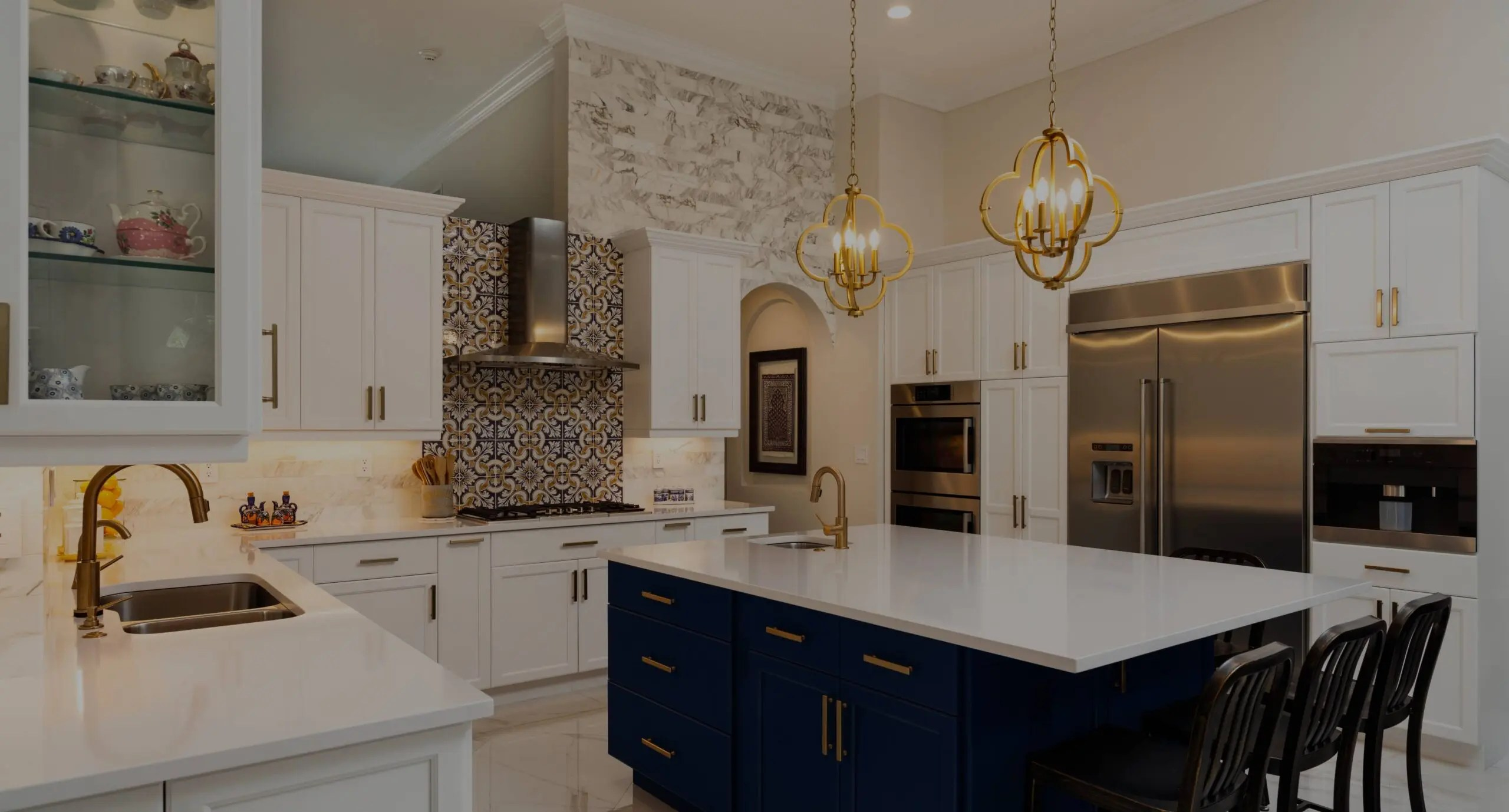 kitchen remodel and bathroom renovation projects