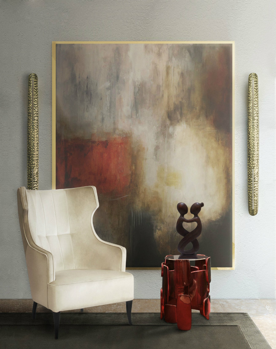 how to style your wall with modern lighting
