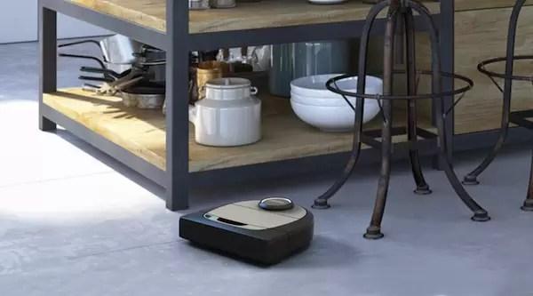 Neato Robot vacuum cleaning