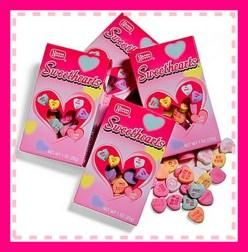 Valentines - conversation hearts