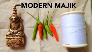 """พระงั่งเขมรตาแดงเนื้อสำริด""""ใจดี"""" by MODERN MAJIK"""