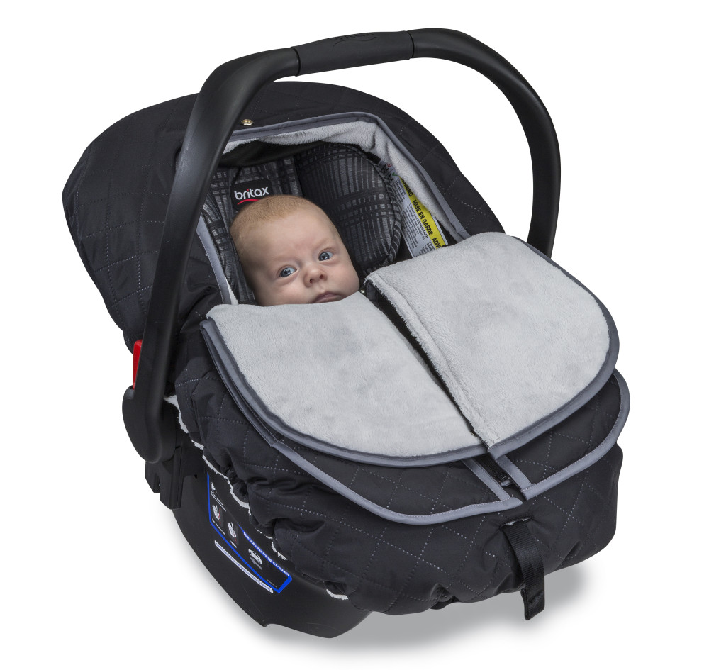 New! Britax Bwarm Insulated Infant Car Seat Cover And