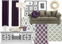 Purple Color For Living Room - [peenmedia.com]
