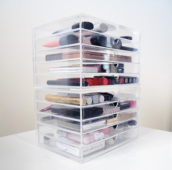 Makeup Storage  Organization Ideas  Modern Martha