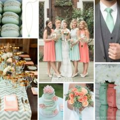 Design My Living Room Color Scheme Black Cabinets Mint Green & Peach Wedding Inspiration ...