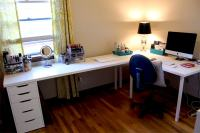 IKEA Desks & Office Makeover | Part One | Modern Martha
