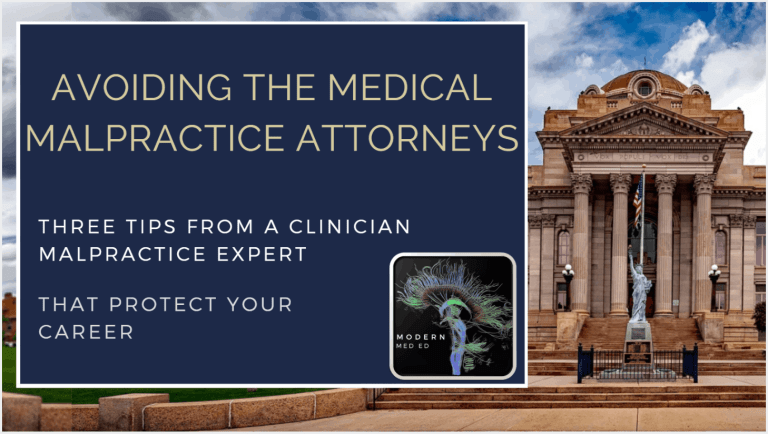 Medical Malpractice Consulting & Liability for Clinicians