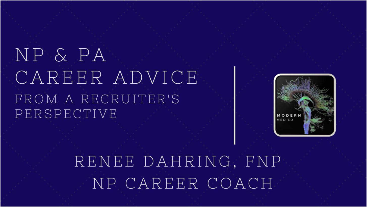 NP PA Career Advice Job Search New Graduate