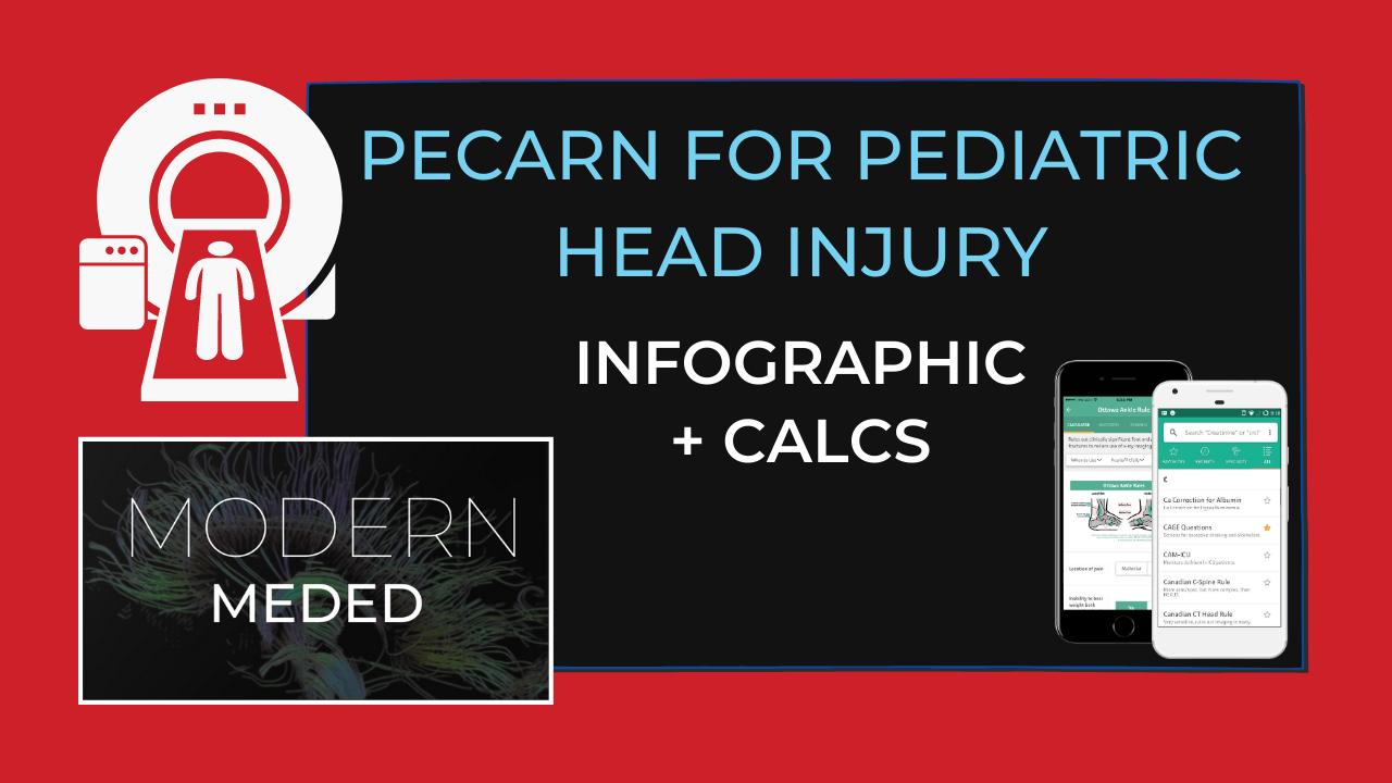 pecarn pediatric head injury