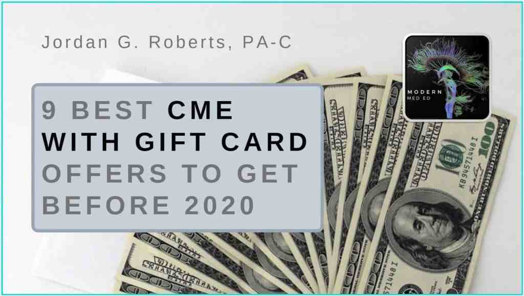 Best CME with Gift Card Offers Amazon and Apple