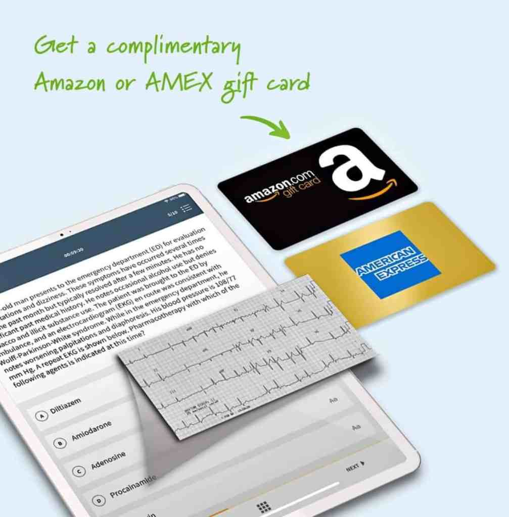 Board Vitals CME with Amazon or AmEx gift card