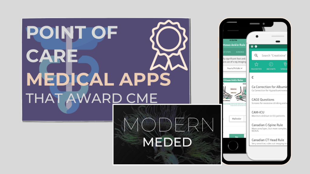 Point of care medical apps