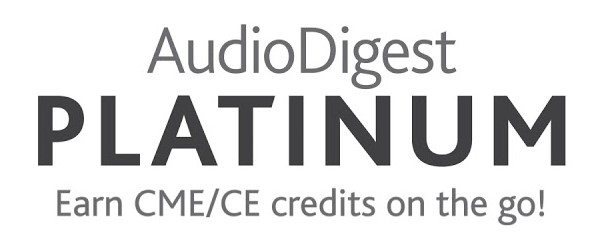 AudioDigest Platinum Membership has unlimited CME