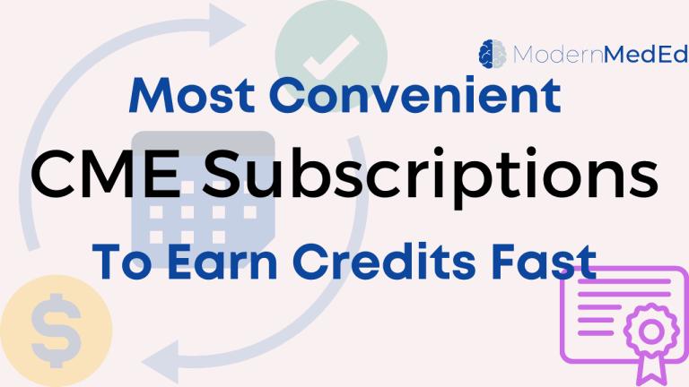 convenient CME subscriptions