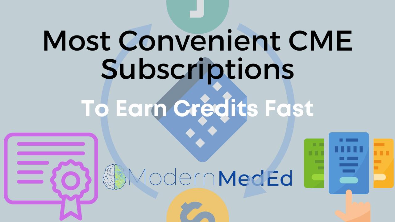 Convenient Online CME Subscriptions