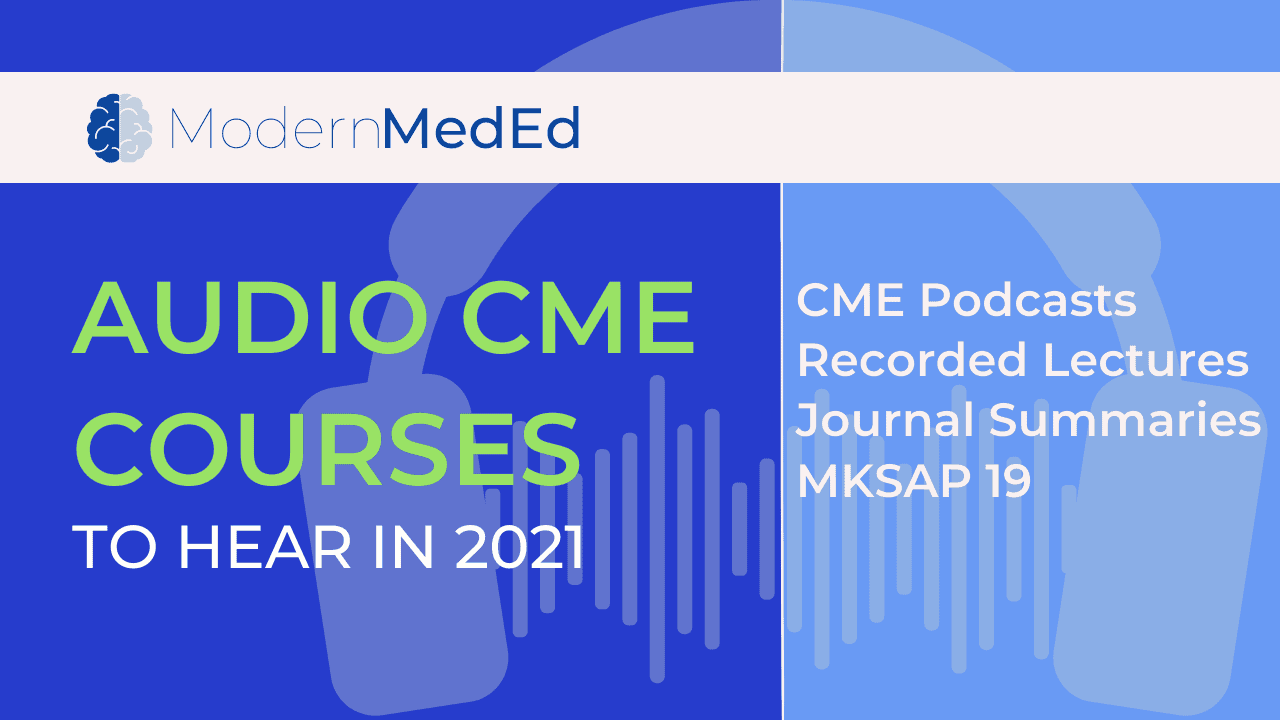 Types of audio CME activities