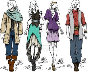 Medieval Modern Clothing