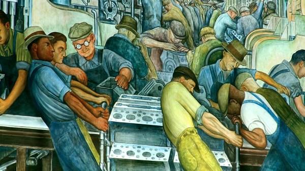 Diego Rivera Detroit Paintings