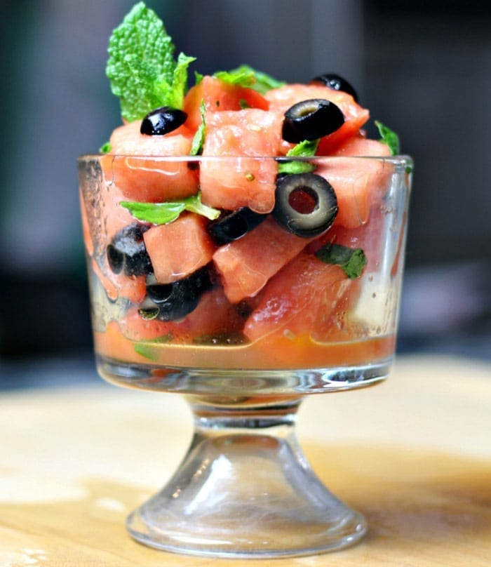 watermelonmintolivesalad