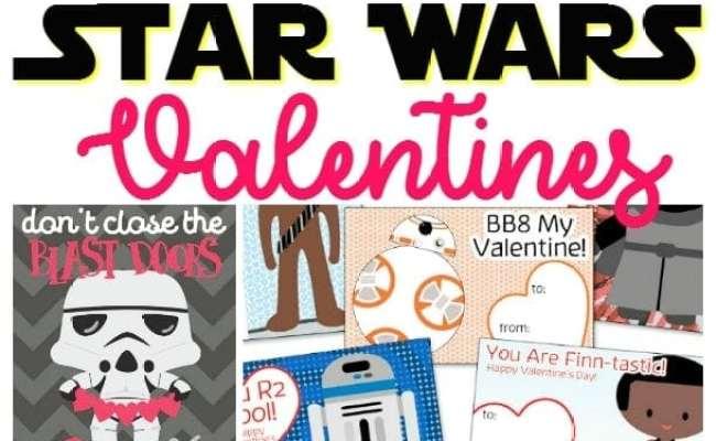 20 Free Printable Star Wars Valentine S Day Cards Modern