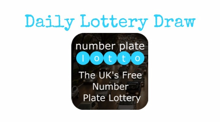 numper plate lotto