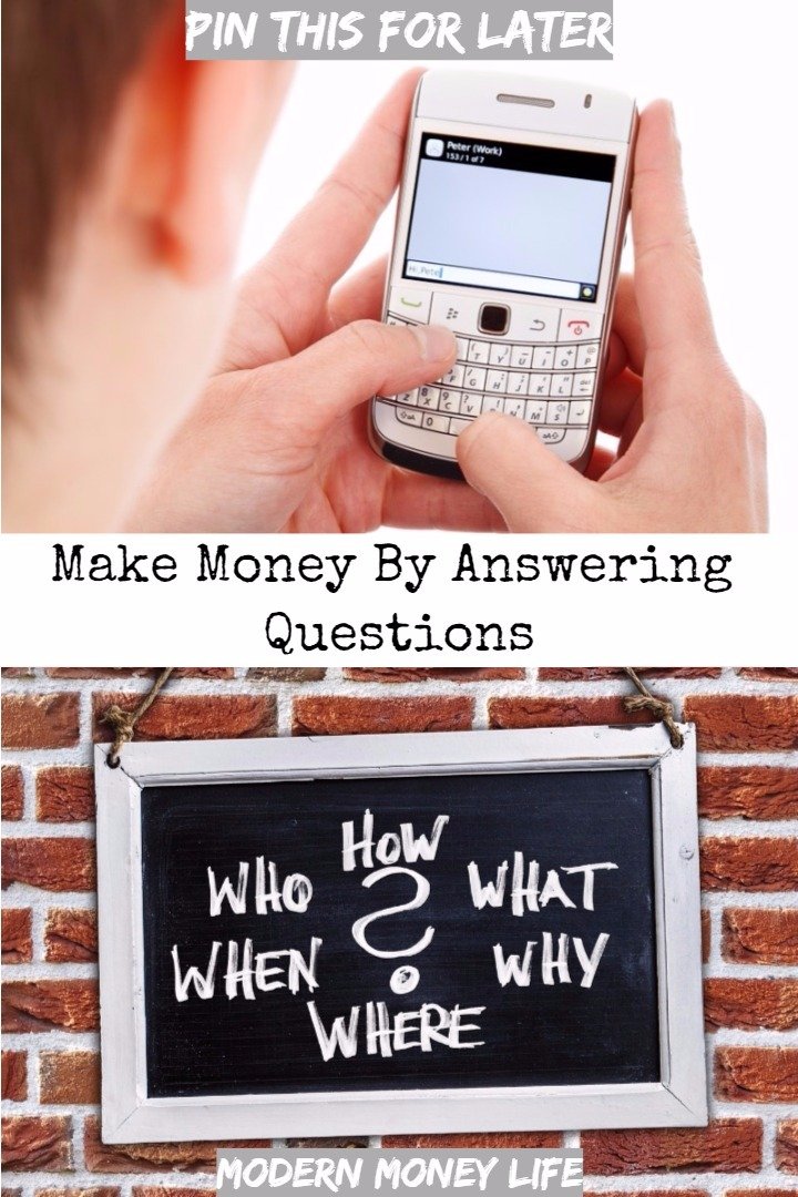Make money by answering questions at home. If you have search engine and social media knowledge then you can earn an income by answering the burning questions on everyone's mind.