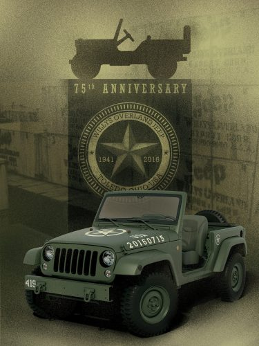 Salute! Concept Wrangler Celebrates Jeep 75th