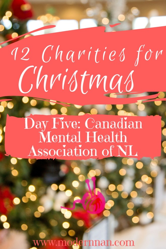 12 Charities for Christmas: Day 5 - Canadian Mental Health Association NL