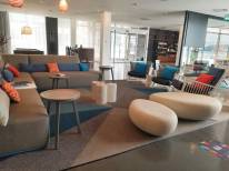 Alt Hotel St. John's Lobby Seating | Modern Nan Travel Blog