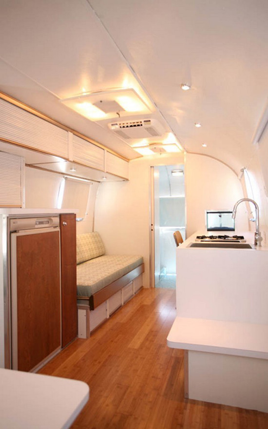 Tradewind Airstream Trailblazer Remodeled by Matthew Hoffman