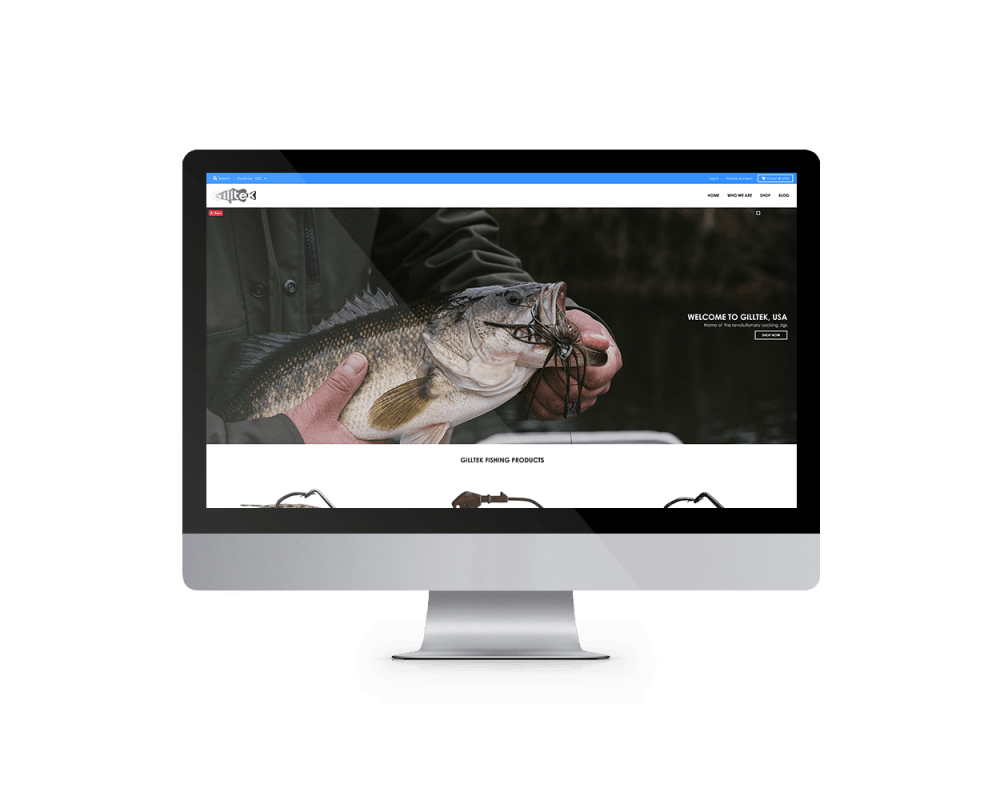 Gilltek Lures Website