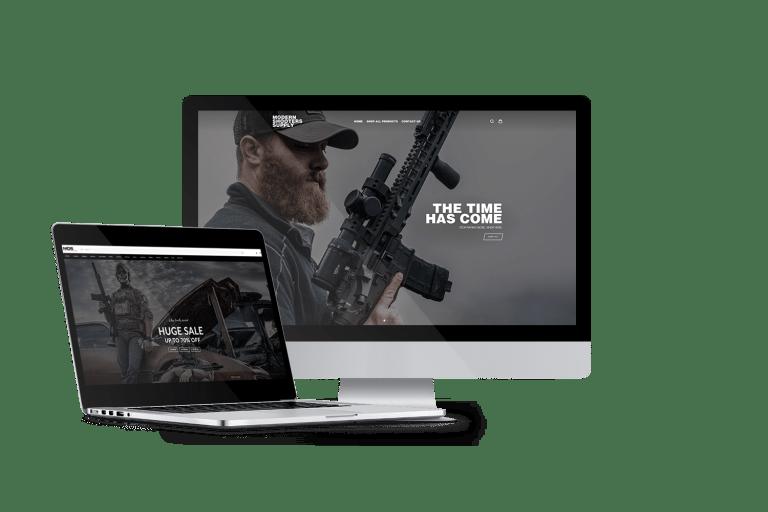 Outdoor Website Theme