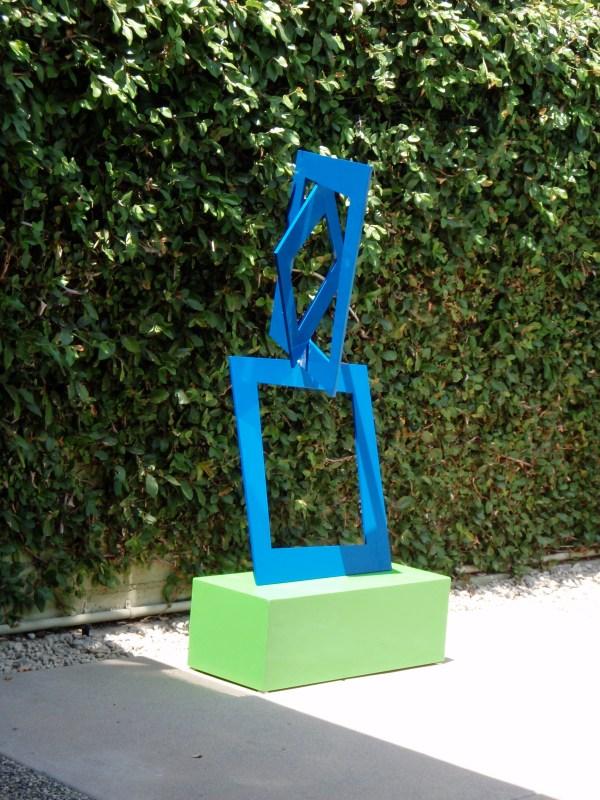 Modern Outdoor Sculpture Terra Transforming