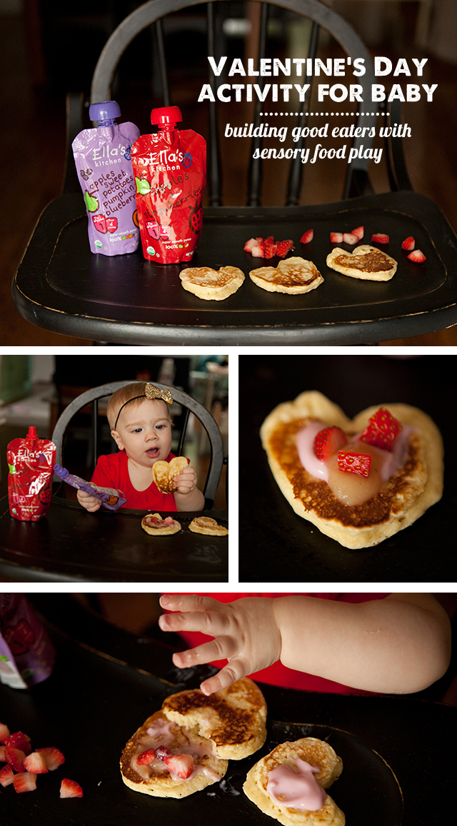 ellas kitchen baby food mobile home remodel valentine activity for baby: decorating (and eating ...