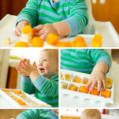 Ellas Kitchen Baby Food Island With Shelves Playtime: Setting Up A Exploration Station For ...