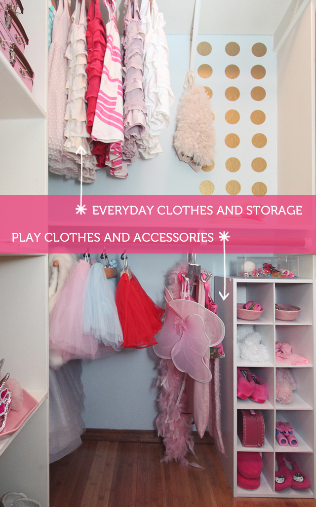 Creating A Dress Up Play Closet The Forever Home Project Modern Parents Messy Kids