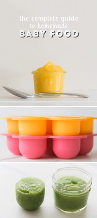 The Complete Guide to Homemade Baby Food - Modern Parents ...