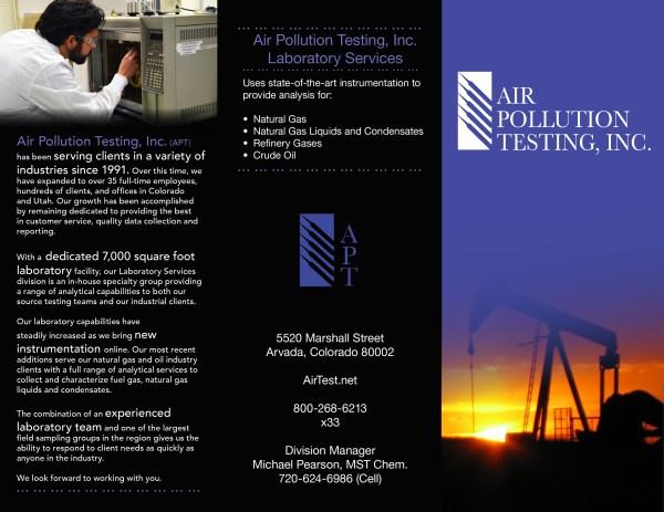 Air Pollution Testing . T