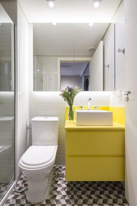 дизайн маленькой ванной комнаты 2018 фото 1