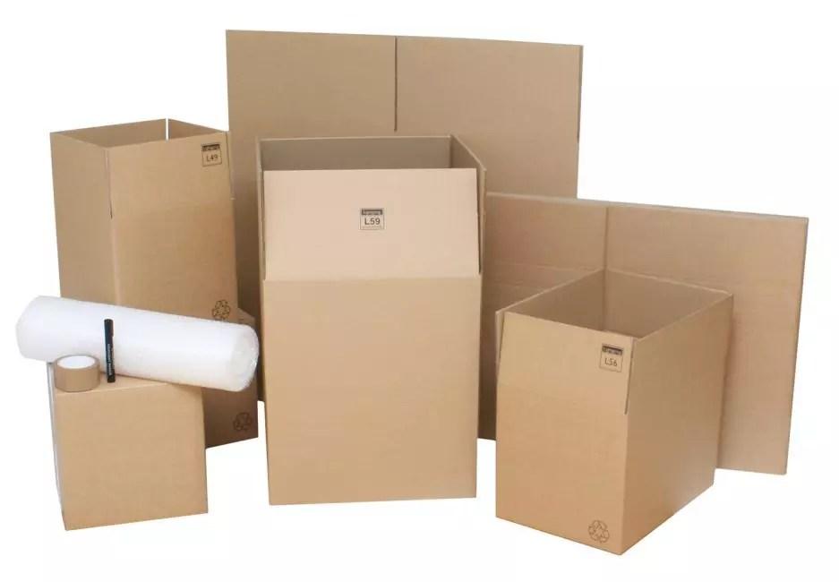 Kompleksowa konstrukcja kilku pudełek
