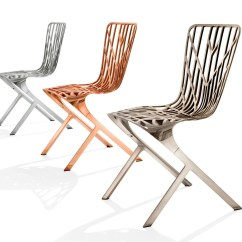 Washington Skeleton Chair Patio Swivel Chairs Knoll David Adjaye Copper Nickel Plated