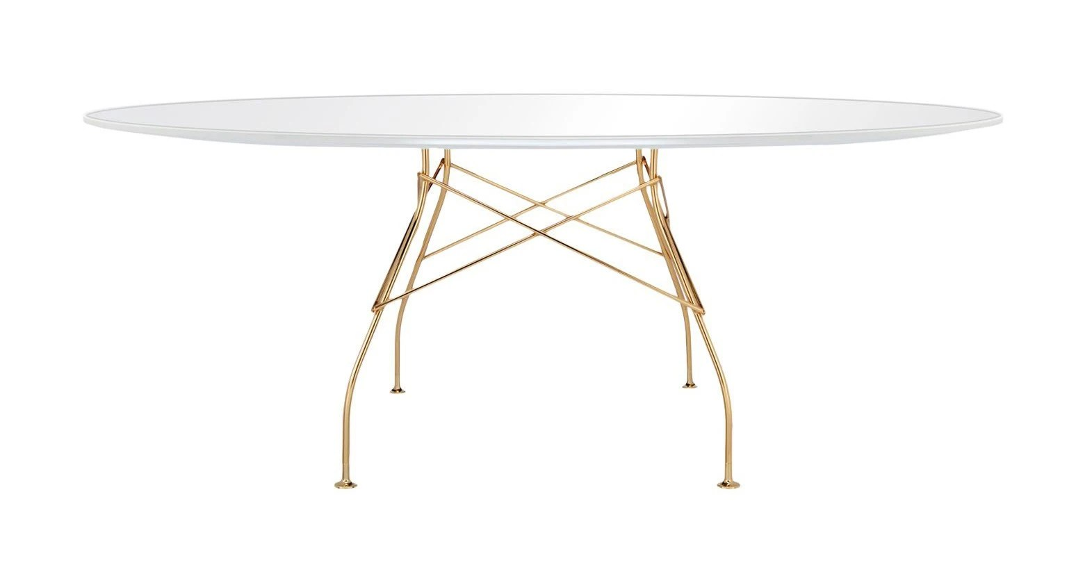 Kartell Glossy Table Oval