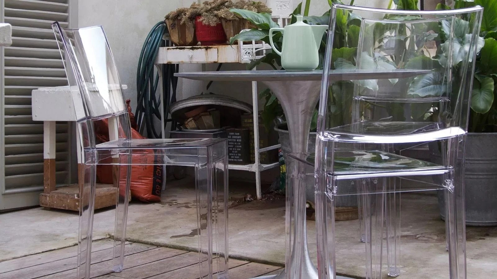 Kartell La Marie Chair Priced Each Sold in Sets of 2