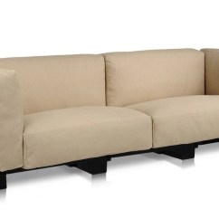 Duo Modern Sofa Bed Sleeper White Slipcovered Kartell Pop Outdoor Questo Design