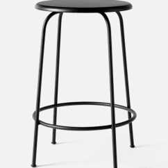 Chair Stool Black High Fisher Price Menu Afteroom Counter